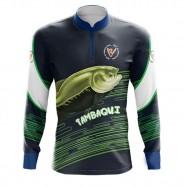 Imagem - Camiseta De Pesca Tambaqui By Aventura - 2009 -gg cód: MKP000991000373