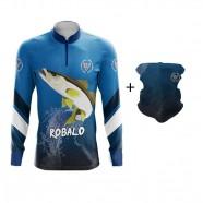 Imagem - Conjunto Camiseta e Bandana By Aventura Robalo 2001 -g cód: MKP000991000376