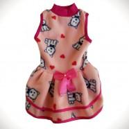 Imagem - Vestido Soft Drapeado para Pet N 4 Coleiras Vanda cód: MKP001156000038