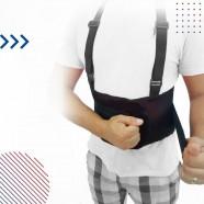 Imagem - Cinta Lombar Ortopédica c/ Suspensório e Elástico em Tela -M cód: MKP001244000152