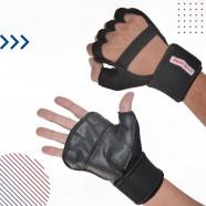 Imagem - Luva Fitness para Musculação com Munhequeira G cód: MKP001244000159