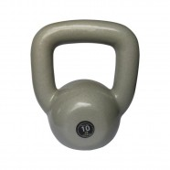 Imagem - Kettlebell Emborrachado Treinamento Funcional Fitness 10,0kg cód: MKP001256002130