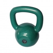 Imagem - Kettlebell Emborrachado Treinamento Funcional Fitness 14,0kg cód: MKP001256002132