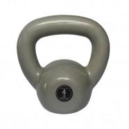 Imagem - Kettlebell Emborrachado Treinamento Funcional Fitness 4,0 Kg cód: MKP001256002136