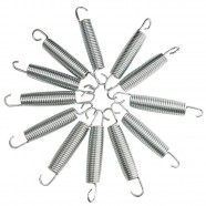 Imagem - Kit 10 Molas para Cama Elástica 18cm cód: MKP001256002162