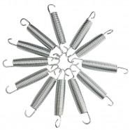 Imagem - Kit 100 Molas para Cama Elástica 18cm cód: MKP001256002167