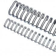 Imagem - Caixa Espiral Garra Duplo Anel Wire-o 3x1 Ofício 1/2 100 cód: MKP001256003326
