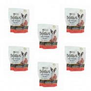 Imagem - Kit Com 6 Bifinhos Carne Mais Dog 350g cód: MKP001286000121