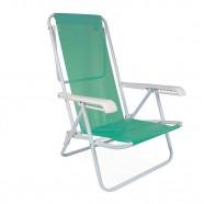 Imagem - Cadeira de Praia Reclinável Aço 8 Posições Anis Mor cód: MKP001300000085