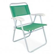Imagem - Cadeira de Praia Master Aço Fashion Anis Mor cód: MKP001300000303