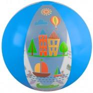 Imagem - Bola Inflável 60cm Azul Claro Mor cód: MKP001300001292