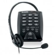 Imagem - Telefone Headset Telemarketing Elgin 6000 Base Discadora cód: MKP001345010694