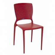 Imagem - Cadeira Safira Vermelha Tramontina cód: MKP001359000032