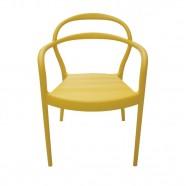Imagem - Cadeira Sissi Amarela Tramontina cód: MKP001359000033