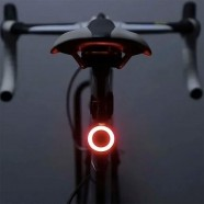 Imagem - Luz de Led Bicicleta Recarregável Usb Círculo cód: MKP001370000024