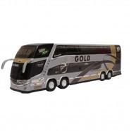 Imagem - Brinquedo Em Miniatura ônibus Gold 2 Andares cód: MKP001383000020