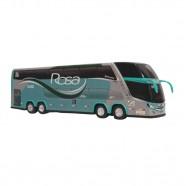 Imagem - Brinquedo ônibus Rosa 2 Andares 30cm cód: MKP001383000094