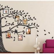 Imagem - Adesivo Decorativo de Sala, Quarto, Porta Retrato Árvore cód: MKP001429000373
