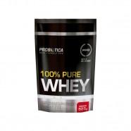 Imagem - 100% Pure Whey Pouch 825g Morango Probiótica cód: MKP001541000067