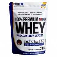 Imagem - Premium Whey 100% Chocolate 2kg Profit cód: MKP001541000739