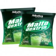 Imagem - 2x Malto Dextrina 1kg - Atlhetica Nutrition cód: MKP001541001536