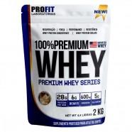 Imagem - 100% Premium Whey 2kg Baunilha Profit cód: MKP001541001876