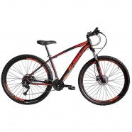 Imagem - Bicicleta Aro 29 Ksw 21 Marchas Freio Hidráulico Laranja 19 cód: MKP001667000651