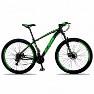 Imagem - Bicicleta Aro 29 Ksw 21 Marchas Freio Hidráulico Verde 15 cód: MKP001667000653