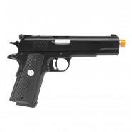 Pistola Airsoft a Gás Gbb 1911 MKIV 70 Black/Silver Full Metal Blowback 6mm Army ARMY-R29-Y