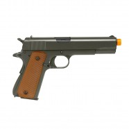 Pistola Airsoft a Gás GBB M1911 A1 Silver Full Metal Blowback 6mm Army ARMY-R31-S