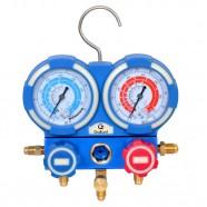 Kit Manifold Manômetros Analógicos Gallant R410A/R22/R134A/R404A