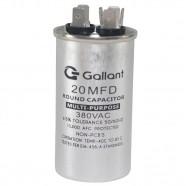Imagem - Capacitor CBB65 Gallant 20MF +-5% 380 VAC GCP20S00A-IX380 cód: S20021360101001001