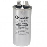 Imagem - Capacitor CBB65 Gallant 30MF +-5% 380 VAC GCP30S00A-IX380 cód: S20021360301001001
