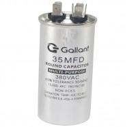 Imagem - Capacitor CBB65 Gallant 35MF +-5% 380 VAC GCP35S00A-IX380 cód: S20021360401001001