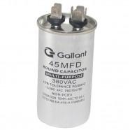 Imagem - Capacitor CBB65 Gallant 45MF +-5% 380 VAC GCP45S00A-IX380 cód: S20021360601001001
