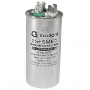 Imagem - Capacitor CBB65 Gallant 25+5MF +-5% 440 VAC GCP25D05A-IX440 cód: S20021361101002001
