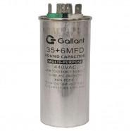 Imagem - Capacitor CBB65 Gallant 35+6MF +-5% 440 VAC GCP35D06A-IX440 cód: S20021361401002001