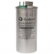 Imagem - Capacitor CBB65 Gallant 40+5MF +-5% 440 VAC - (GCP40D05A-IX440) cód: S20021361601002001