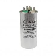 Imagem - Capacitor CBB65 Gallant 25+1,5mf +-5% 440 VAC GCP25D01A-IX400 cód: S20021362601002001