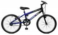 Bicicleta Aro 20 Masculina Ciclone Azul com Preto Master Bike sem Marchas