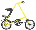 Bicicleta Dobrável Amarela - Cicla