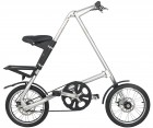 Bicicleta Dobrável Prateada - Cicla