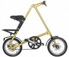 Bicicleta Dobrável Dourada - Cicla