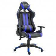 Imagem - Cadeira Gamer Pro Reclinável Base Giratória Gallant Preto/Azul cód: CG0102010011360014