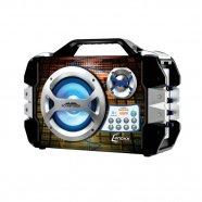 Caixa de Som Amplificada Sound Wave Lenoxx USB/SD/AUX c/ Bateria Interna