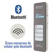 Grampo Telefônico para Telefone Fixo e Celular 4GB - Empório Forte