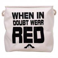 Laundry Red Quadrado - 34cm x 38cm x 38cm Trevisan Concept