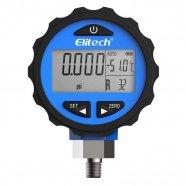 Imagem - Manômetro Digital Baixa Pressão 0 a 500psi Pilha Alcalina AAA (1,5v) Elitech cód: R90010970301002001