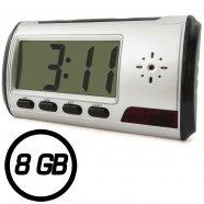 Relógio Despertador com Mini Câmera 8GB - Empório Forte