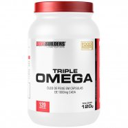 Triple Ômega 120 Caps - Bodybuilders